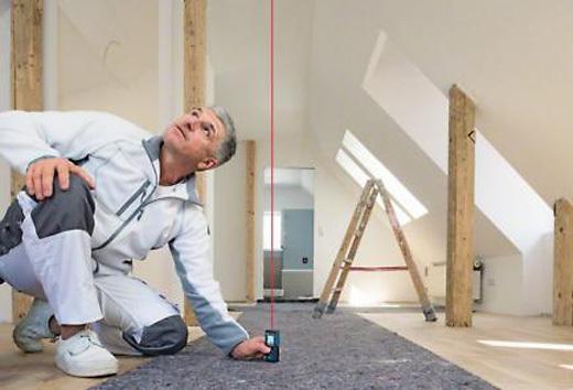 Bosch glm 40 laser entfernungsmesser mit schutztasche